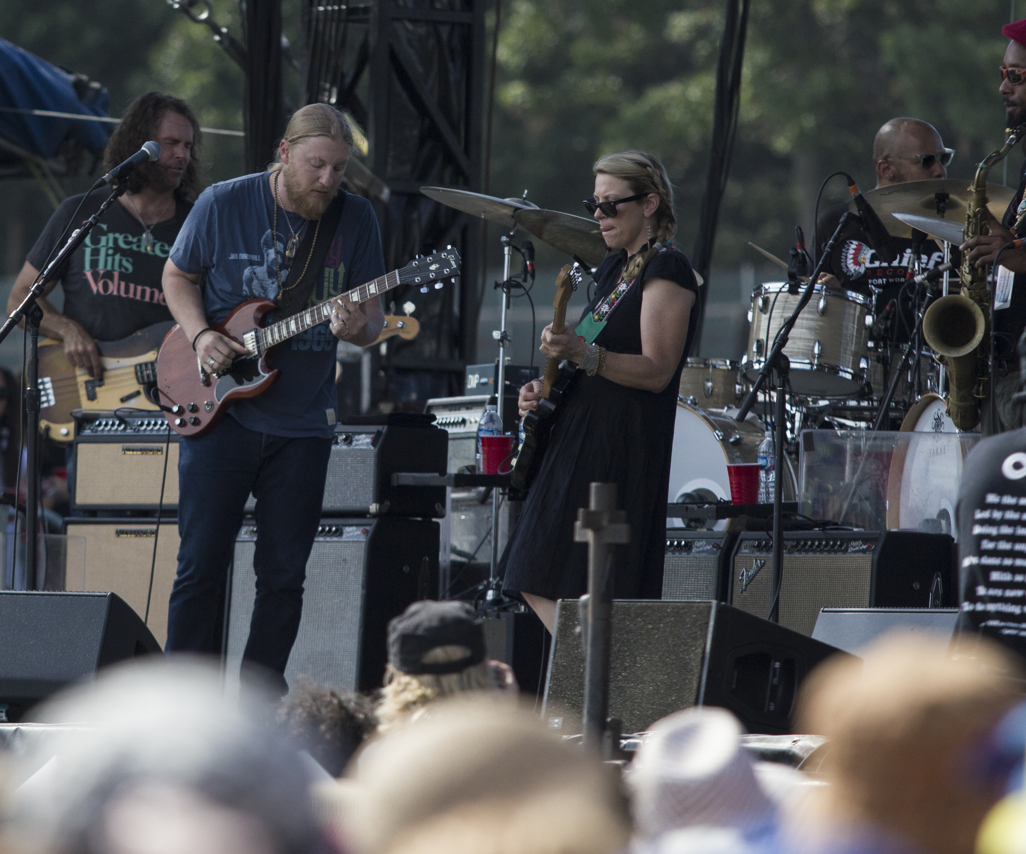Tedeschi Trucks Band at Lockn Festival 2014. Photo by: Matthew McGuire