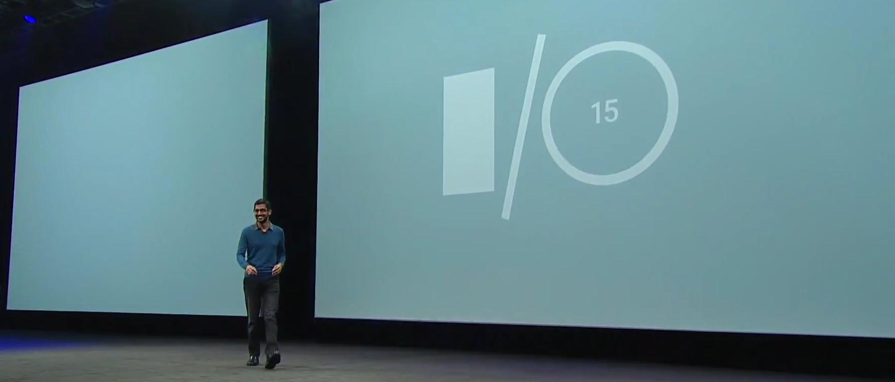 Google I/O 2015 | Photo by: Google Developers / YouTube