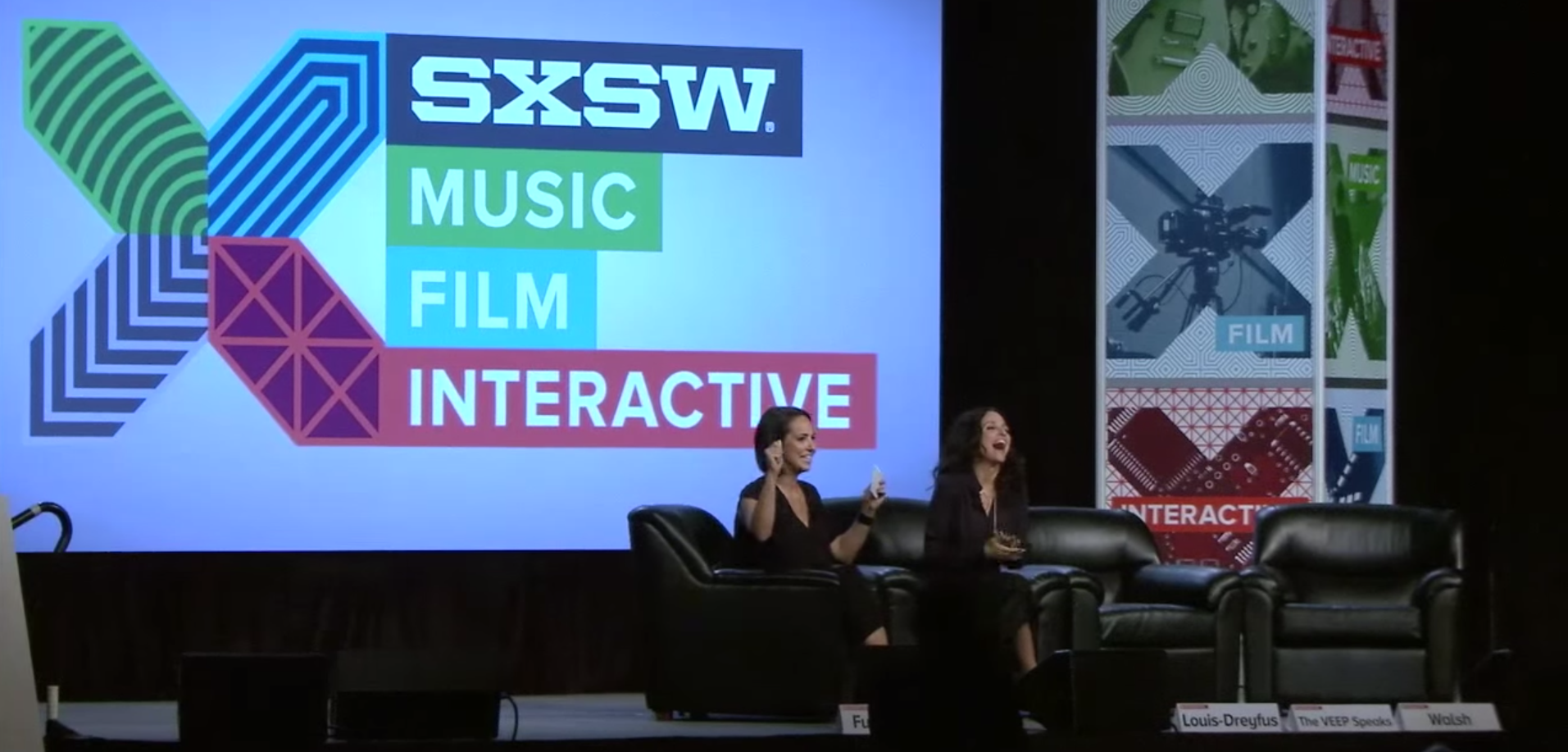Julia Louis-Dreyfus. Image by: SXSW / YouTube