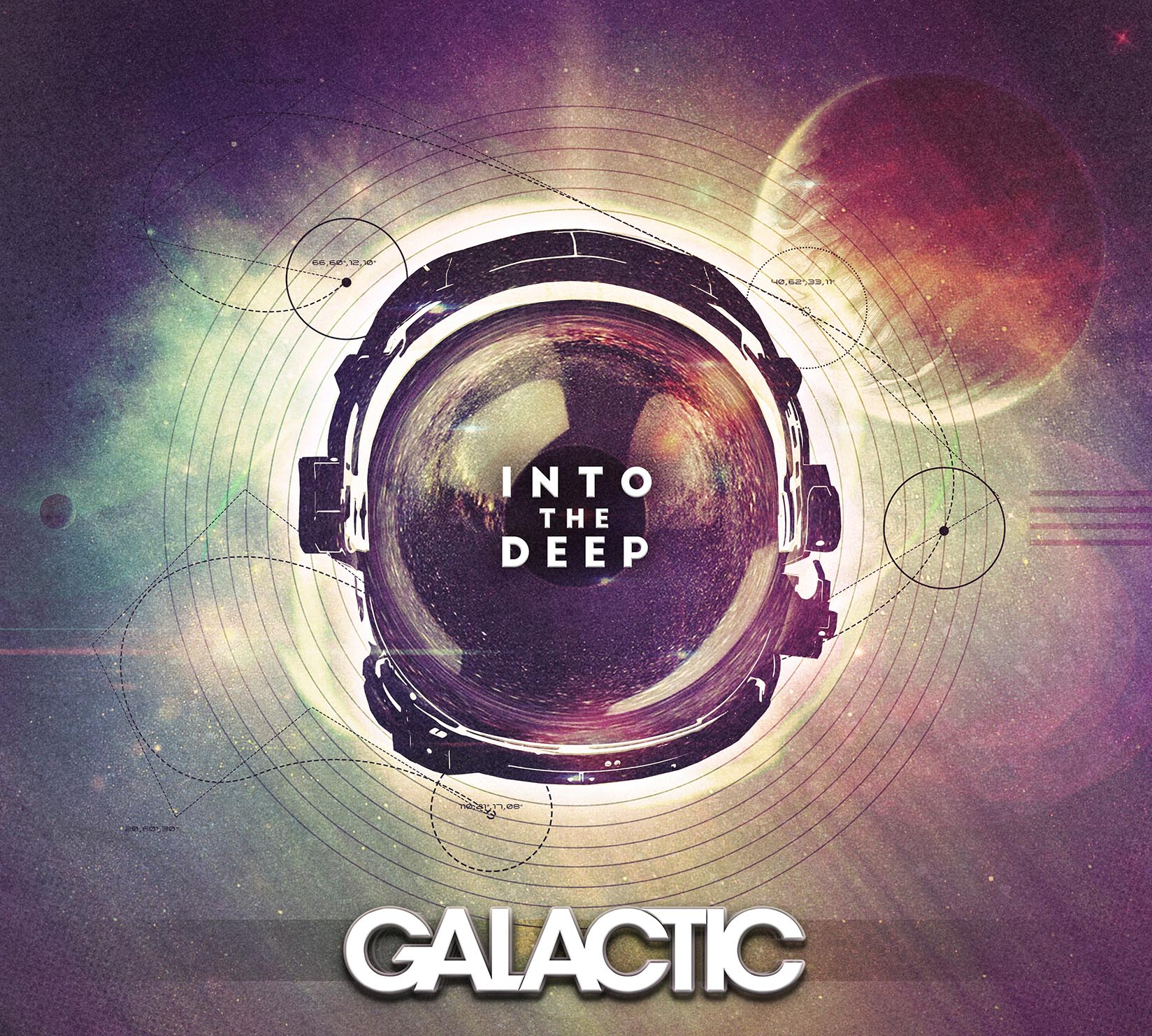 Galactic, Into the Deep album cover artwork. Image by: Galacticfunk.com