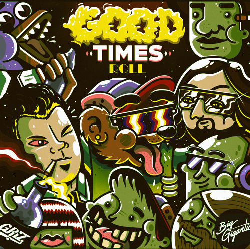 GRiZ, Big Gigantic 'Good Times' on Soundcloud.