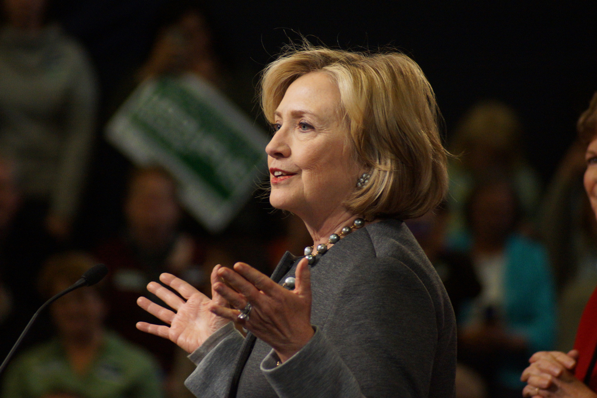Hillary Clinton. Photo by: Marc Nozell / Flickr