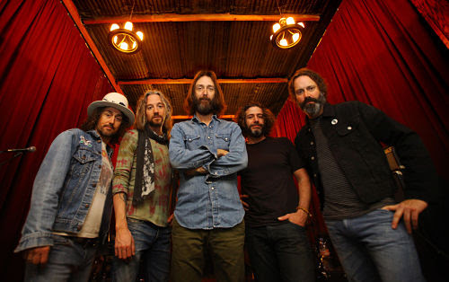 Chris Robinson Brotherhood. Image provided by Calabro Media