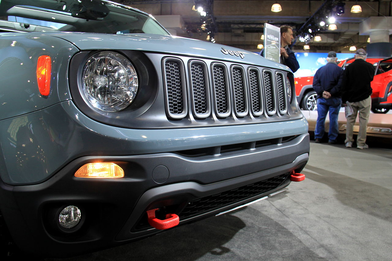 Jeep Renegade. Photo by: Joseph Brent/Wikimedia Commons