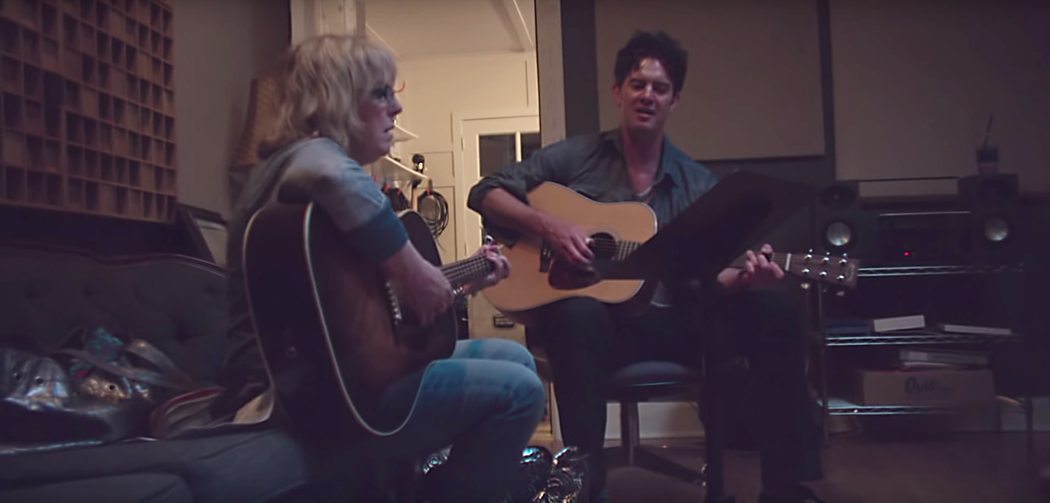 G. Love and Lucinda Williams. Image by: G. Love / YouTube