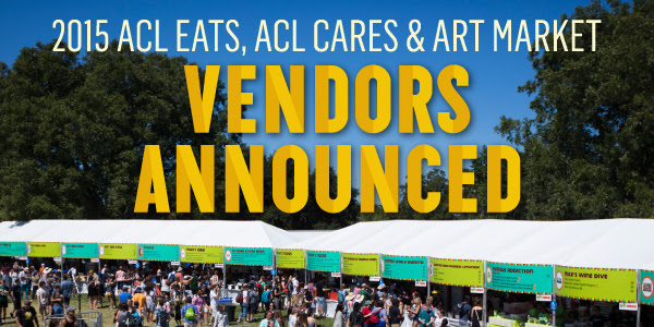 ACL Festival vendors. Image by: ACL Festival.