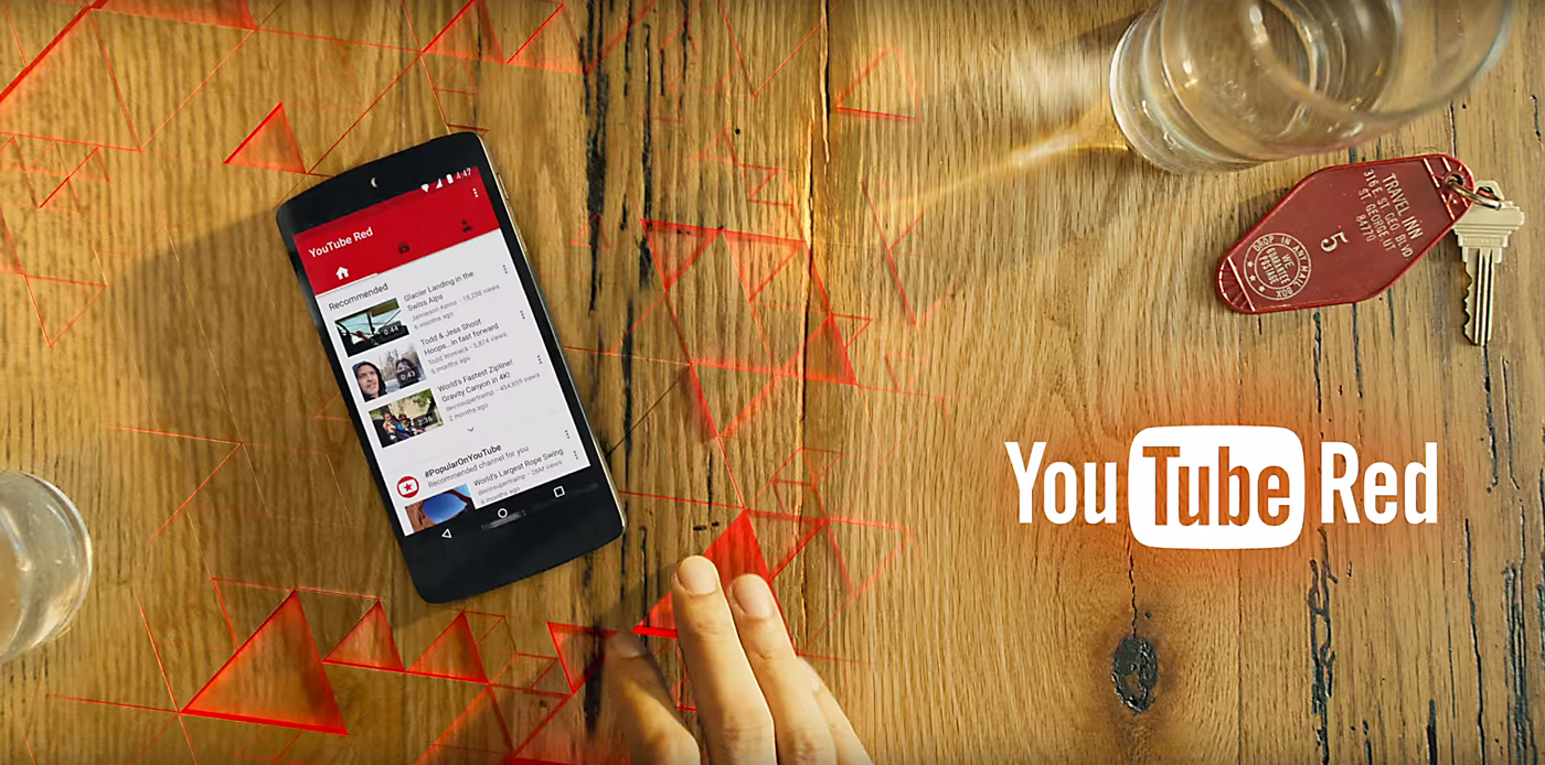 Youtube Red. Photo by: YouTube