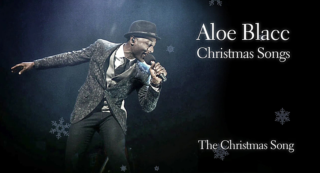 Aloe Blacc rings in the holiday season with Christmas Songs