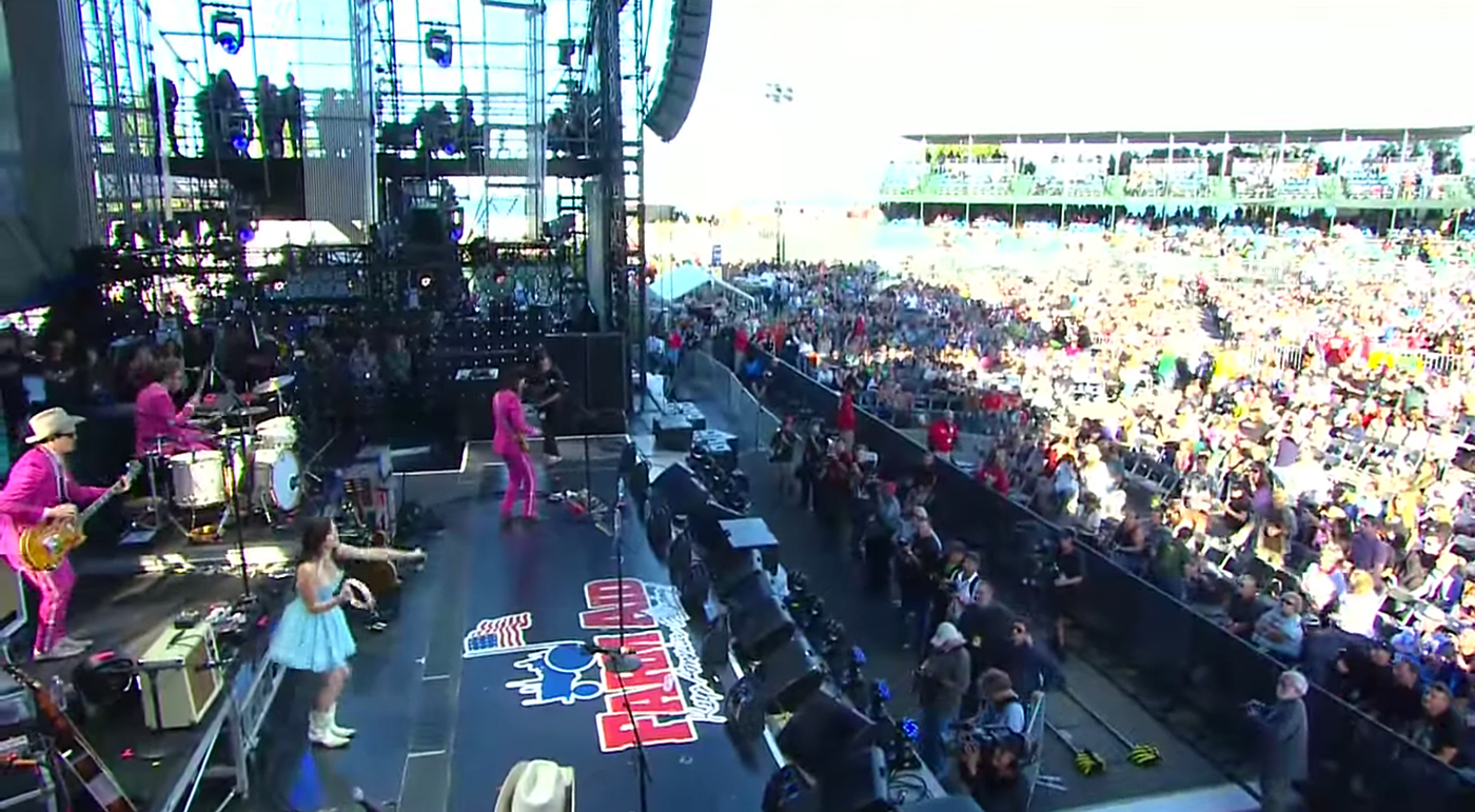 Kacey Musgraves at Farm Aid 30. Photo by: Farm Aid 30 / YouTube