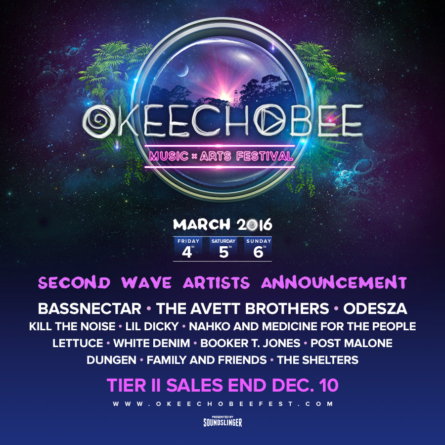 Okeechobee 2016 additional artists. Photo by: Okeechobee Music Festival
