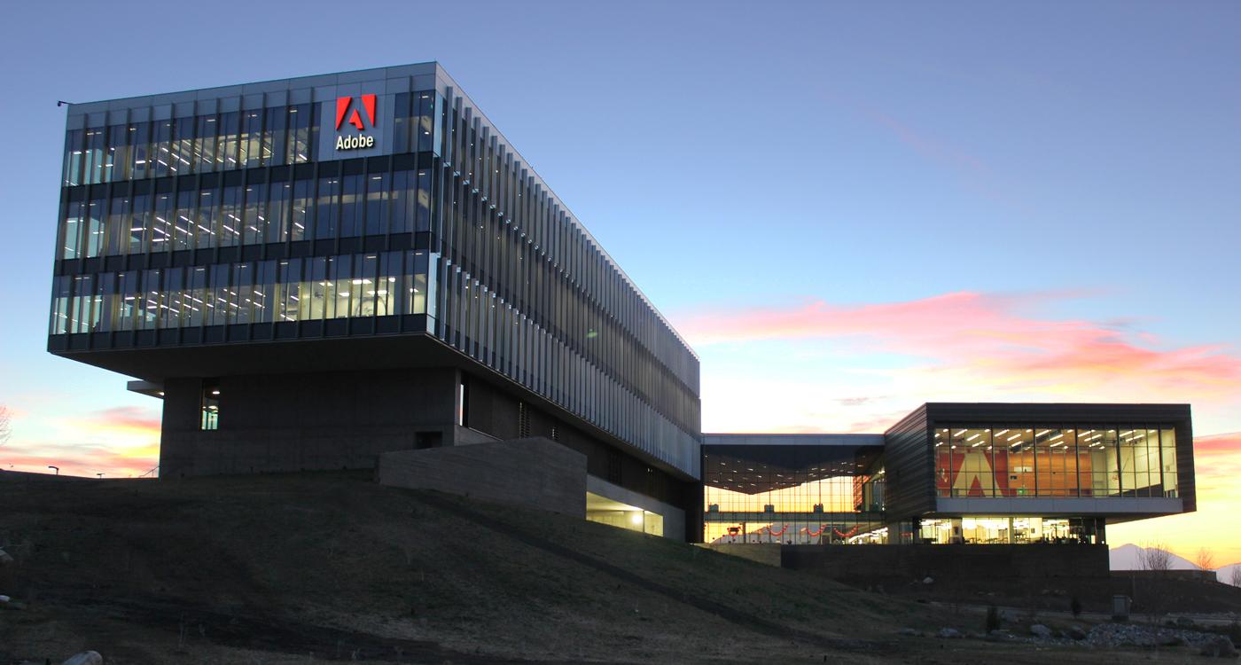 Adobe Campus Lehi, Utah. Photo by: Adobe