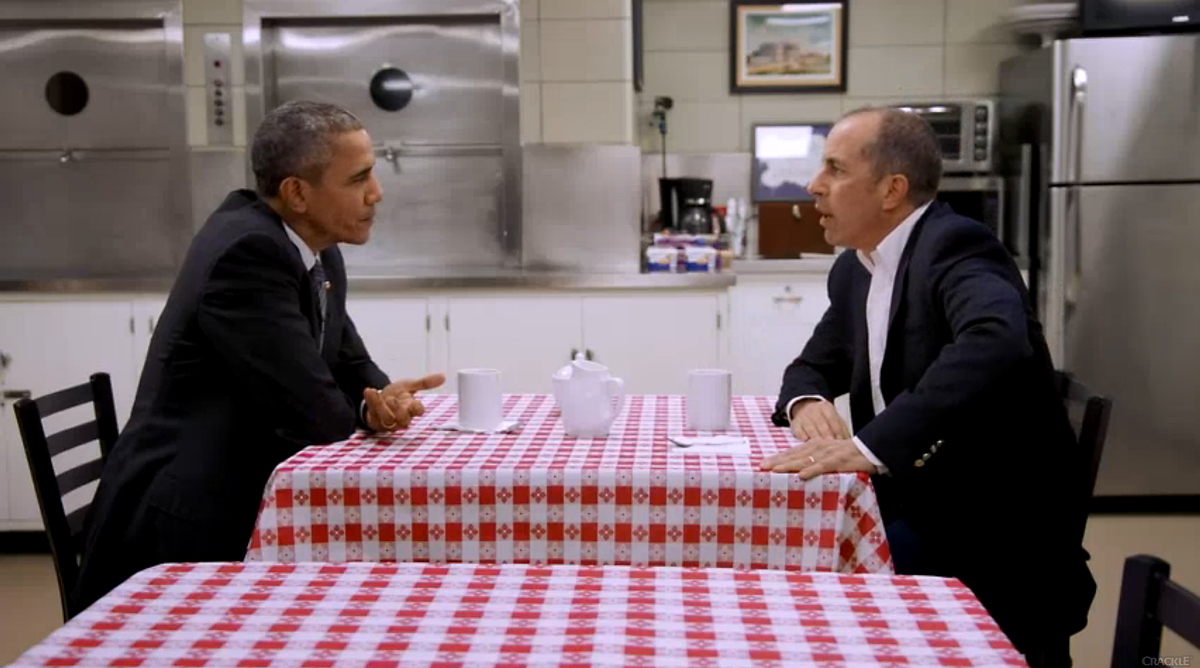 Crackle, Comedians in Cars Getting Coffee with President Barack Obama. Photo by: Crackle