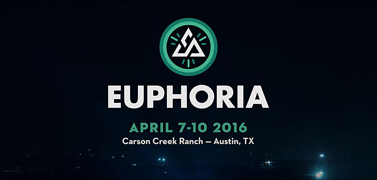 Euphoria Music Festival 2016 lineup. Photo by: Euphoria Music Festival