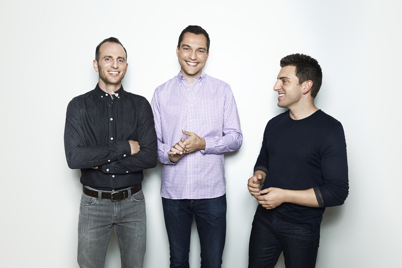 Airbnb founders. Photo provided.