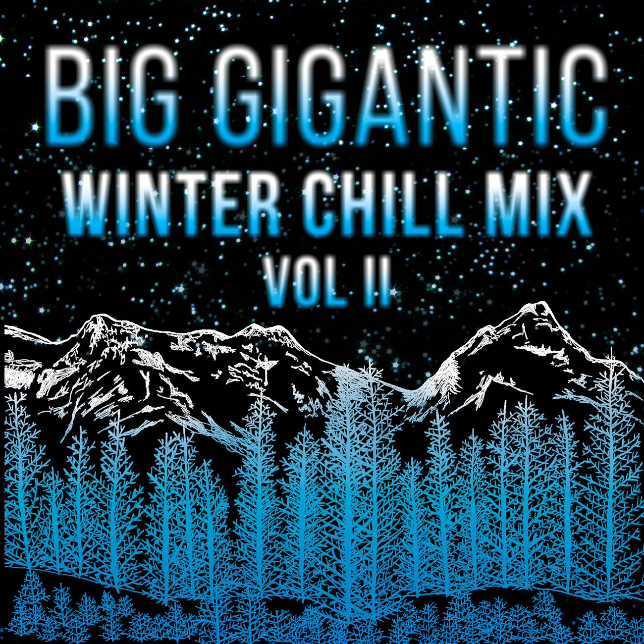 Big Gigantic design for Winter Chill Mix Volume II