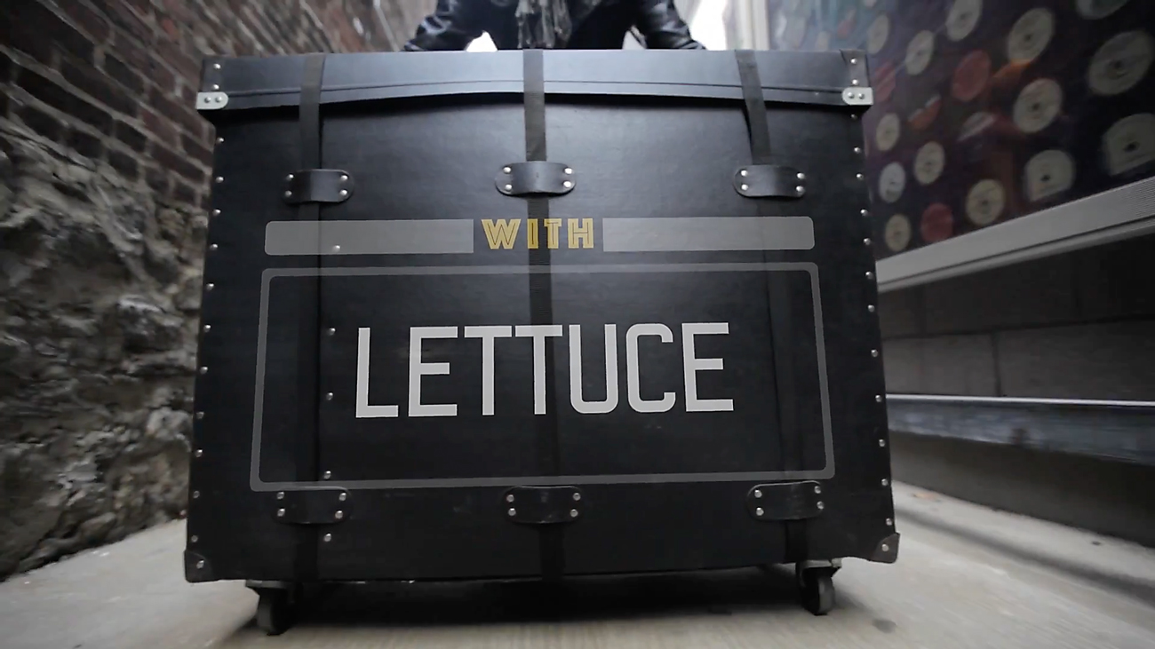 Lettuce. Photo by: World Cafe / YouTube
