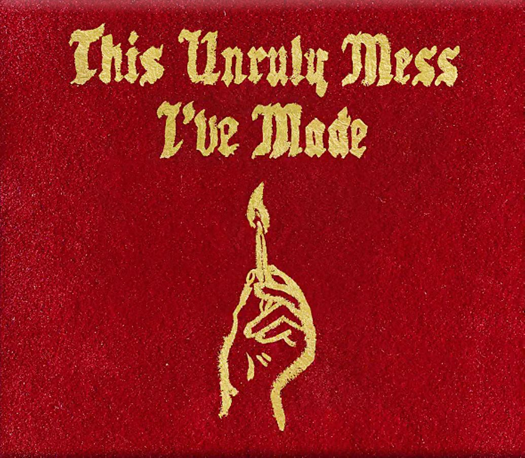 This Unruly Mess I've Made cover art. Photo by: Macklemore and Ryan Lewis