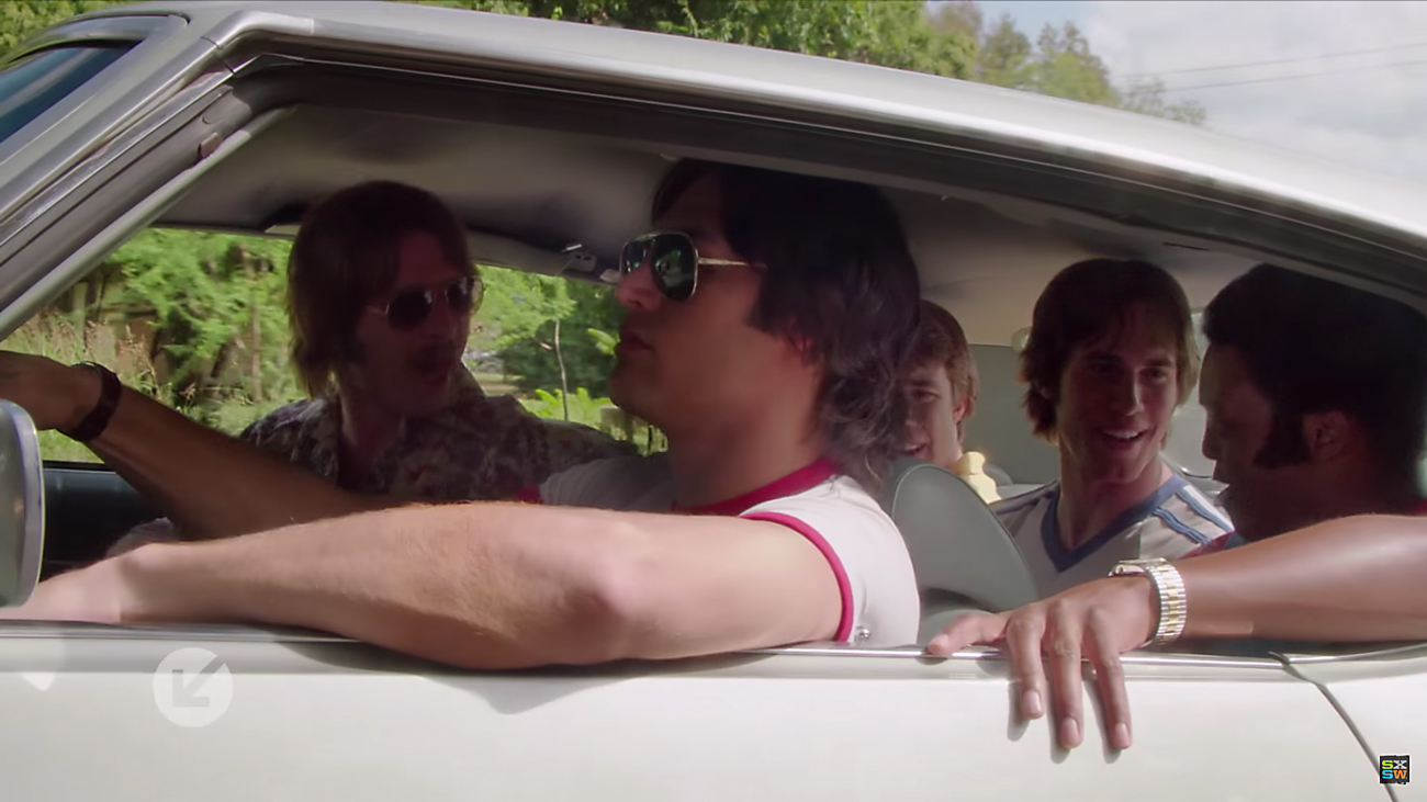 Everybody Wants Some, film still shot. Photo by: SXSW Film Festival / YouTube