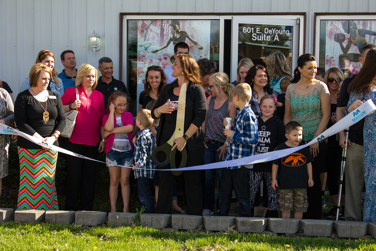 Fusion Boot Camp ribbon cutting in Marion, Illinois. Photo by: Matthew McGuire