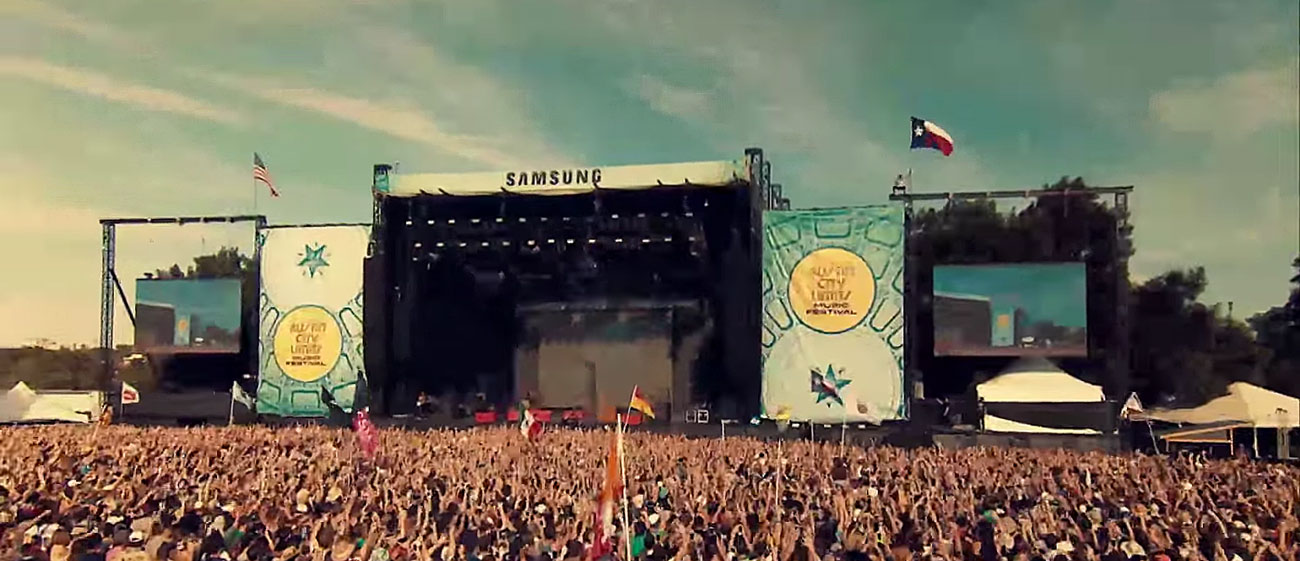 ACL Festival 2015. Photo by: AT&T / YouTube