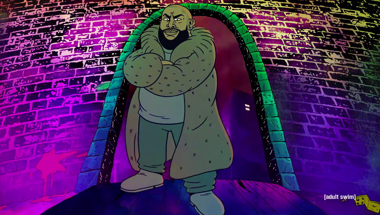 Big Grams featuring Big Boi and Phantogram. Photo by: Adult Swim / YouTube