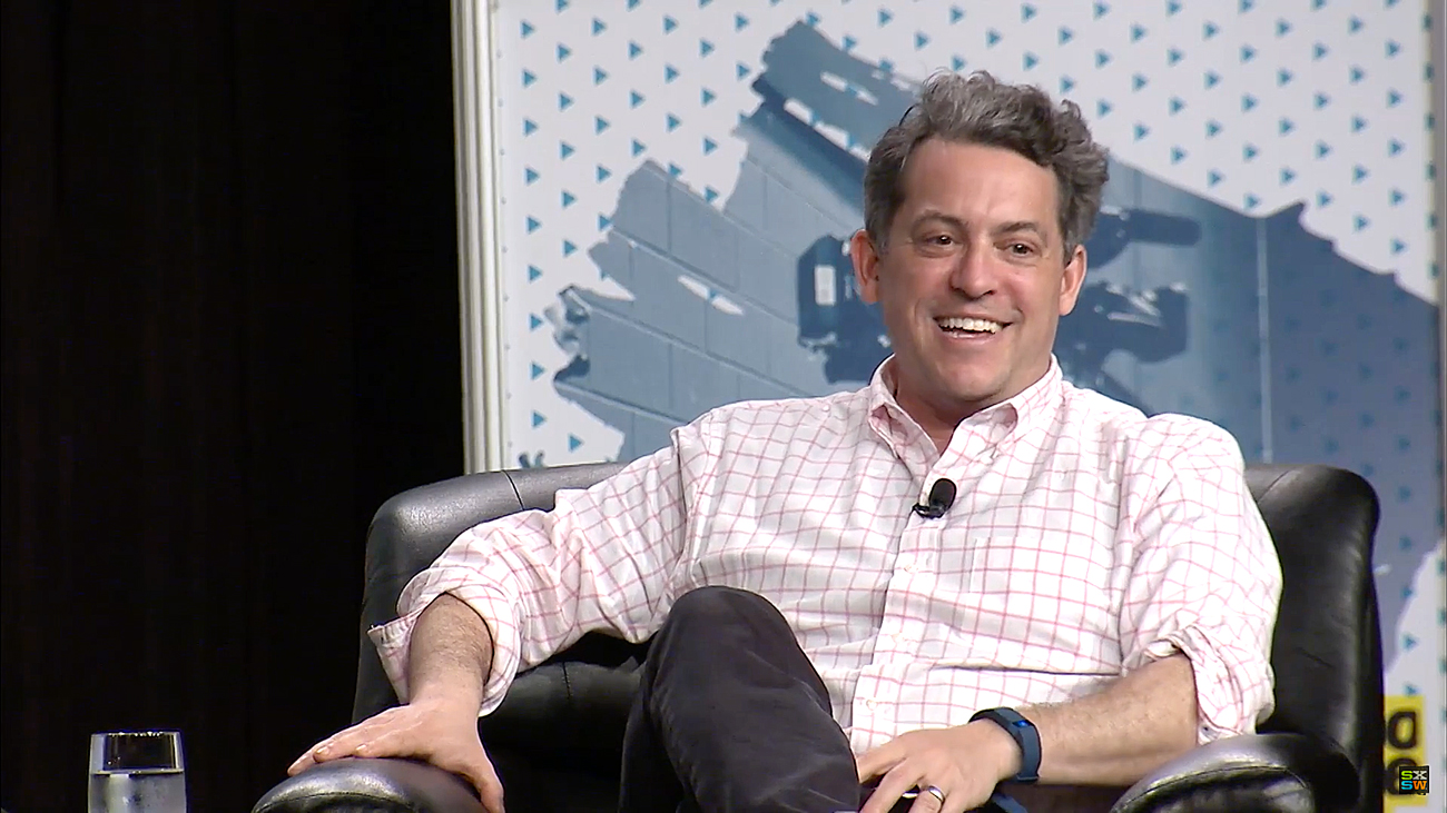 Jim Bankoff, CEO and chairman at VOX Media. Photo by: SXSW / YouTube