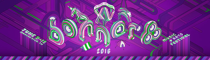 Bonnaroo 2016 logo. Photo provided by Mason Jar Media