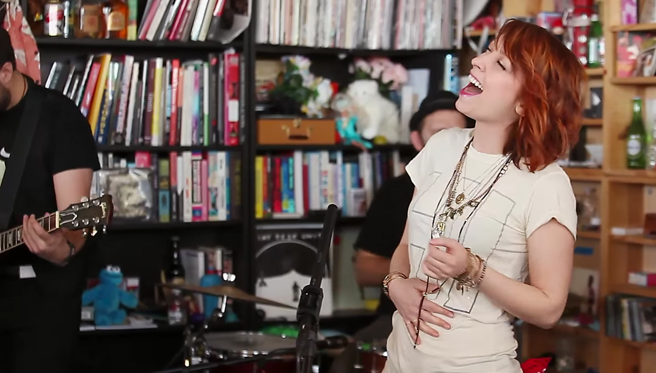 Sister Sparrow & the Dirty Birds from NPR's Tiny Desk series. Photo by: NPR / YouTube
