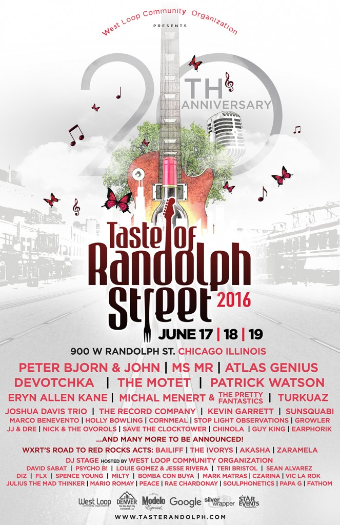 Taste of Randolph Music and Food Festival lineup. Photo by: Taste of Randolph