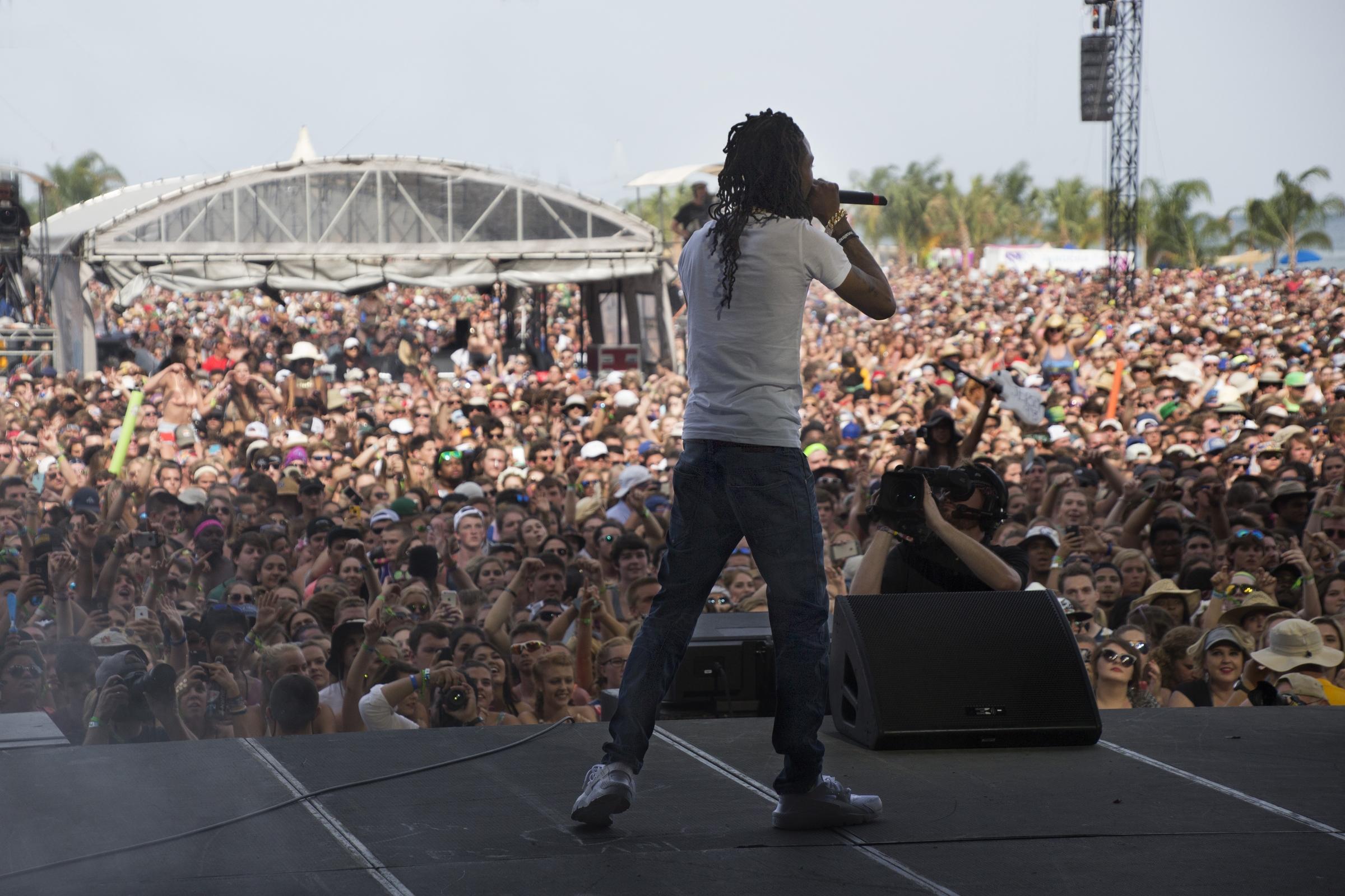 Fetty Wap at Hangout Music Festival 2016. Photo: Courtesy of Hangout Music Festival