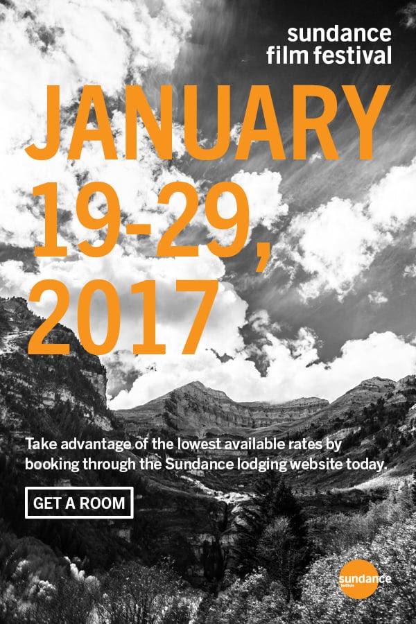 Sundance Film Festival 2017 dates. Photo by: Sundance Institute