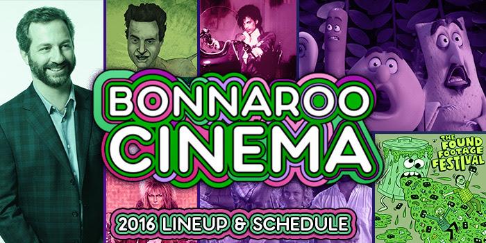 Bonnaroo Music Festival Cinema Tent lineup. Photo by: Bonnaroo