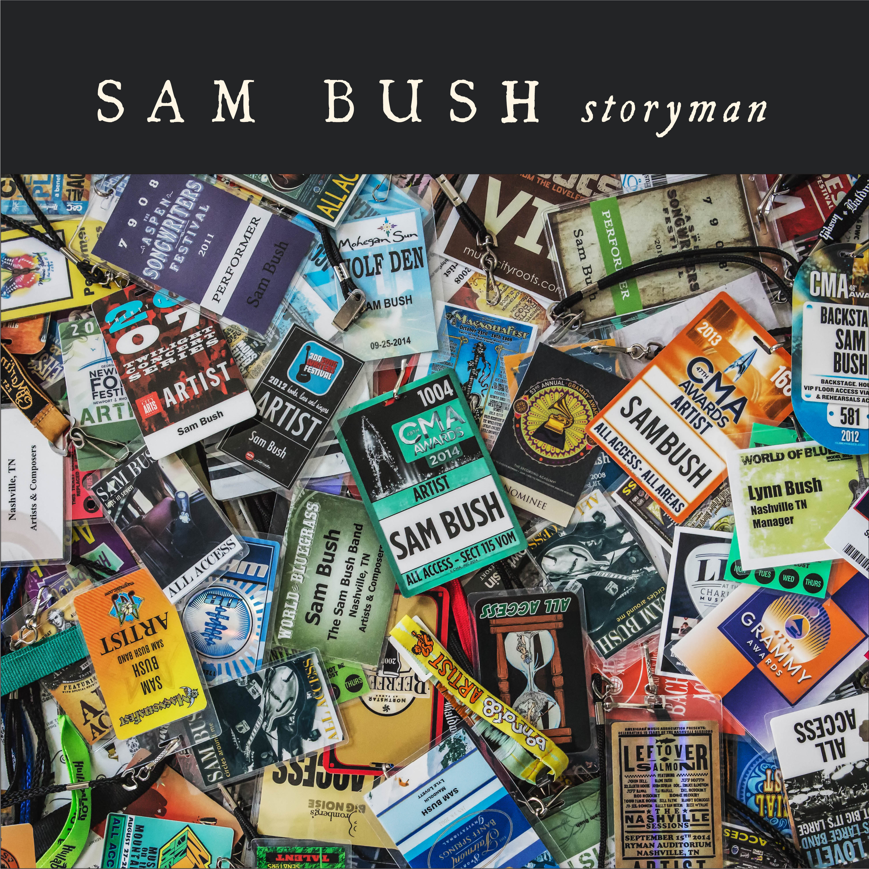 Sam Bush Storyman album artwork. Photo provided.