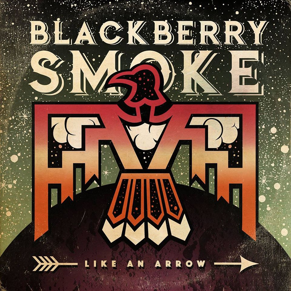 Blackberry Smoke Like an Arrow album artwork. Photo by: Blackberry Smoke