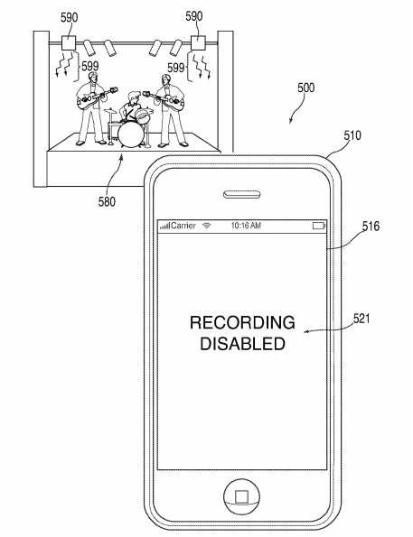 Apple Patent. Photo by: Mashable / UNITED STATES PATENT AND TRADEMARK OFFICE