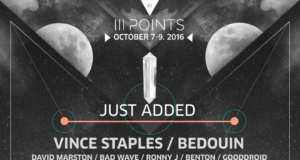 III Points 2016 lineup. Photo by: III Points