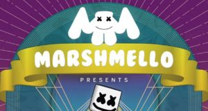Marshmello world tour. Photo by: Marshmello