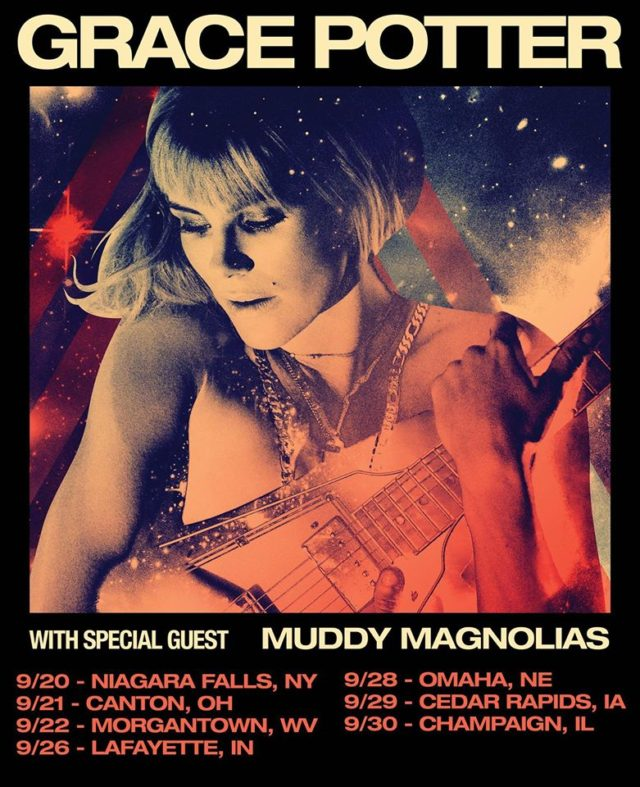 Grace Potter with the Muddy Magnolias fall tour. Photo by: Muddy Magnolias