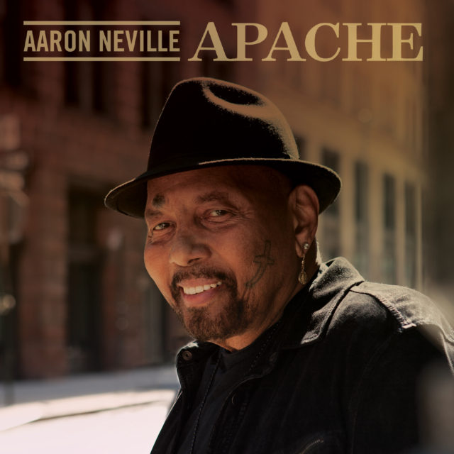 Aaron Neville, Apache album cover. Photo by: Red Light Management