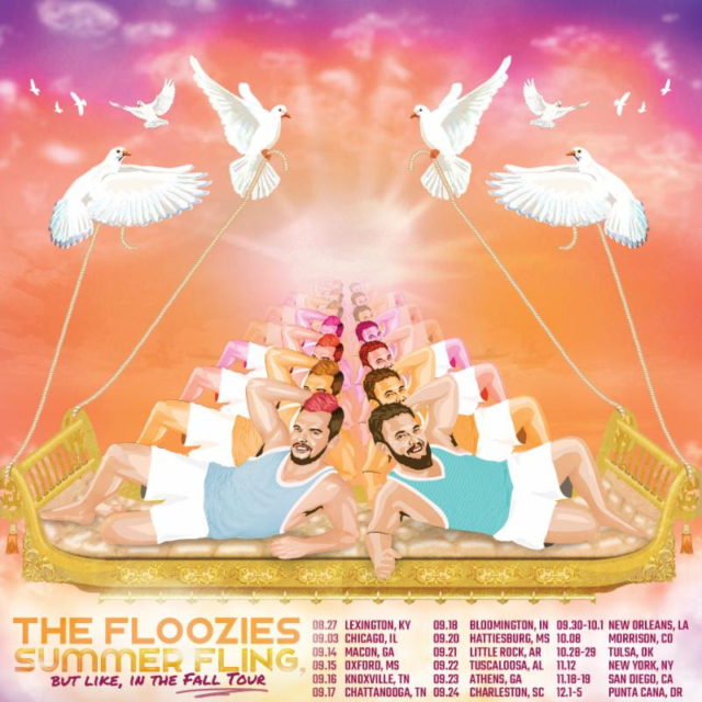 The Floozies fall tour dates. Photo by: The Floozies