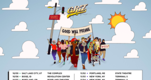 GRiZ fall tour schedule. Photo by: GRiZ