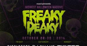 Freaky Deaky 2016 lineup. Photo by: Freaky Deaky