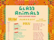 Glass Animals 2016 tour dates. Photo by: Glass Animals