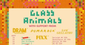 Glass Animals 2016 tour dates. Photo by: Glass Animals