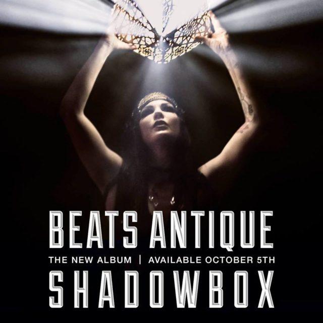Beats Antique album cover art for Shadowbox. Photo by: Beats Antique