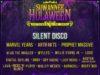 Suwannee Hulaween silent disco lineup. Photo by: Suwannee Hulaween