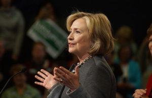 Hillary Clinton in November 2014. Photo by: Marc Nozell / Wikimedia Commons