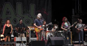 Bob Weir performing with Furthur at All Good Music Festival 2013. Photo by: Matthew McGuire