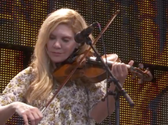 Alison Krauss performing at Farm Aid 2016. Photo by: Farm Aid / YouTube