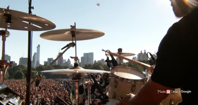 Global Citizen Festival 2016 from Central Park in New York City. Photo by: Global Citizen / YouTube